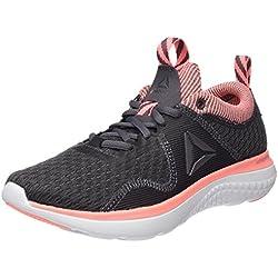 Reebok Astroride Run Fire, Zapatillas de Running para Mujer, Gris (Ash Grey/Sour Melon/Coal/White/Steel/Pewter), 39 EU