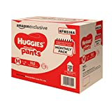 #6: Huggies Wonder Pants Medium Size Diapers Monthly Pack (152 Count)