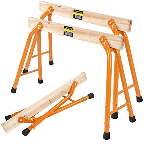 2er Set Unterstellbock Klappbock Multi-Ständer Tragfähigkeit bis zu 100kg Werkstattbock
