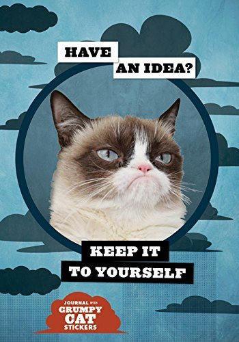 Grumpy Cat Flexi Journal with Stickers by Grumpy Cat (2015-03-17)