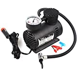 NATURAL INGLIS Car Air Compressor 12 Volt Automatic Machine Tire Inflator - DC12V 150 PSI - Multi-Use Heavy-Duty Portable Air Compressor Pump With Gauge For Small ATV / Truck / SUV / Sedan Tires / INGLIS Car Insurance Gifts Tire Inflator - DC12V 150 PSI -