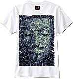 Lilith T-Shirt Anonymous Maske Guy Fawkes Trippy PSYCHDELEIC, XL