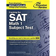 Cracking The Sat Math 1 Subject Test (Cracking the Sat Math Subject Test)