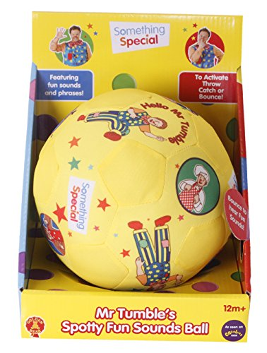 Image of Something Special Mr Tumble Spotty Fun Sounds Ball