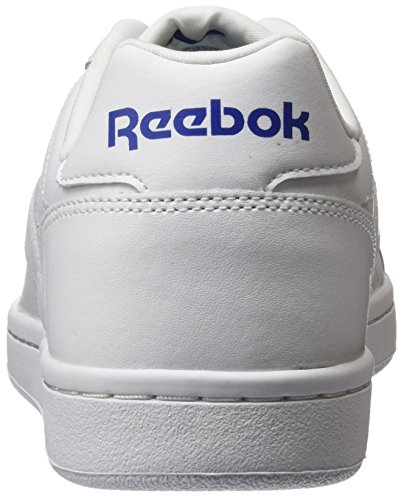 Reebok Royal Cmplt Cln LX, Chaussures de Tennis Homme Multicolore - Blanc/bleu roi (White / Collegiate Royal)