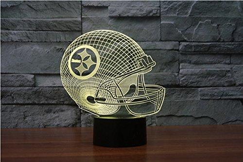 Pittsburgh Steelers Led Nachtlampe mit Neu 3D Neon Nachtlicht NFL USA 6