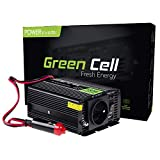 Green Cell® 150W/300W Modifizierte Sinus Spannungswandler Wechselrichter 12V auf 230V Modified Sine Wave Power Inverter für Auto mit USB, Direktanschluss an Autobatterie, Zigarettenanzünder Stecker