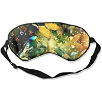 Eye Mask Eyeshade Colorful Butterfly Sleeping Mask Blindfold Eyepatch Adjustable Head Strap preisvergleich bei billige-tabletten.eu