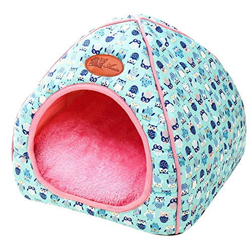 Haustierbett Serria® Mongolischer Zwinger Faltbare Haustier Nest Antistatisch, atmungsaktiv, perfekte Qualität Hundehütte für Katze Kaninchen Hamster Meerschweinchen Chinchilla