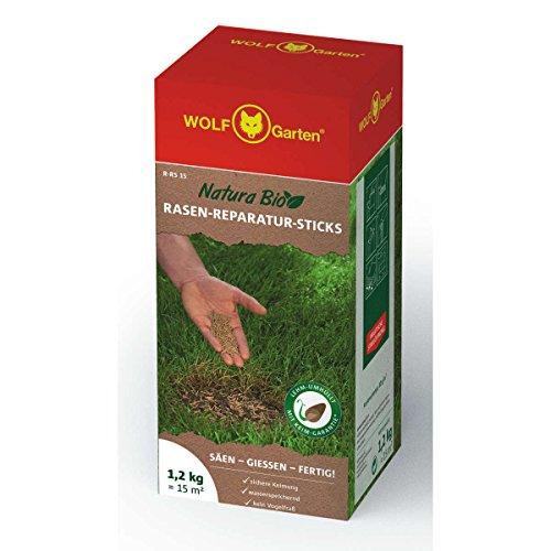 WOLF-Garten Natura Bio Rasen-Reparatur-Sticks in der Streubox R-RSA 15