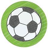 Amscan 9903005 Teller Kicker Party, Mehrfarbig, 23 cm