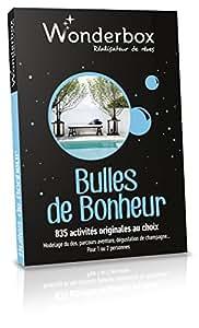 Coffret cadeau Wonderbox Bulles de Bonheur