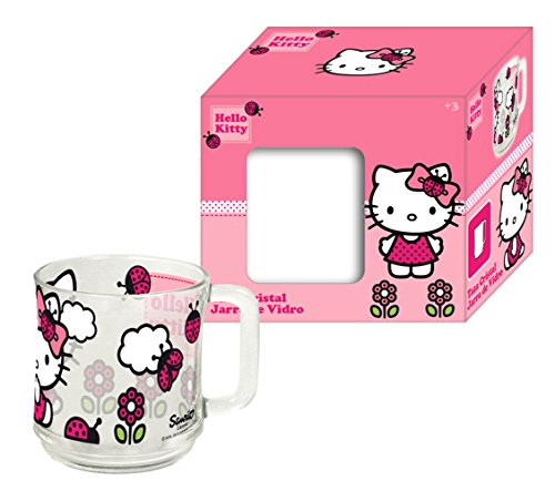 Mosa-Import 007732 - Tazza di Hello Kitty, 11,7 x 8 x 10 cm
