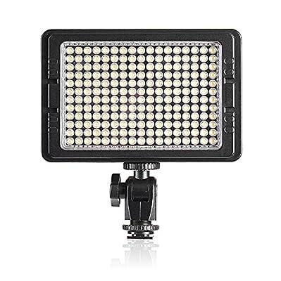 Neewer® LED-204 Multi-Functional LED Video Light 180 Degrees Elevation for Sony Canon Nikon Pentax Olympus Samsung Panasonic JVC DSLR Cameras DV Camcorders - low-cost UK light shop.