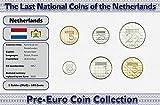 IMPACTO COLECCIONABLES Niederlande, 6 Münzen - Jahr 1982-2001 - Gulden Blistercard