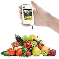 Greentest, Detector de Radiación de Alta Precisión, de la Fresco frutas, vegetales Nitrato Ensayador y Radiación Detector Combo