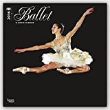 Ballet 2016 Wall Stwhite Glitter Calendr