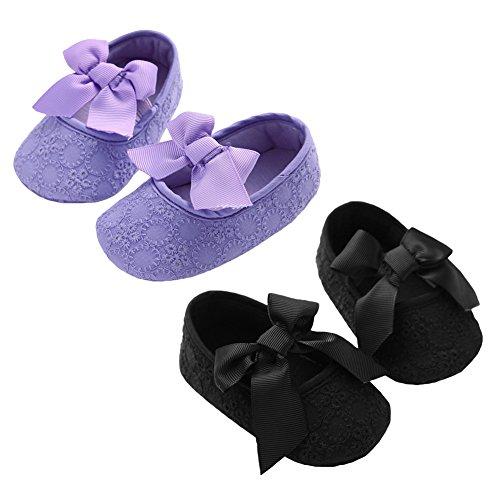 CHIC-CHIC Infantile Princesse Bébé Chaussures Premier Pas Chaussures Souple Sandales Nœud Papillon Mignon