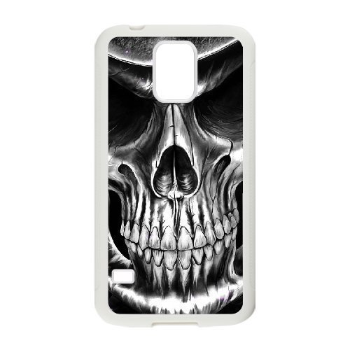 ALICASE Hard Shell Diy Case Skull Cover For Samsung Galaxy S5 i9600 [Pattern-6]