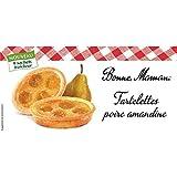 Bonne maman tartelettes poire amandine 135g Envoi Rapide Et Soignée ( Prix Par Unité )