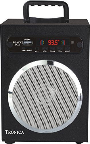 Reviews for GREY SPECTRUM Black Box MP3/SD Card/AUX/FM Speaker Powered By Rechargeable Battery