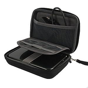 für New Nintendo 3DS N3DS XL – Konsole Hart Reise Lagerung Tragen Taschen Hülle von co2CREA