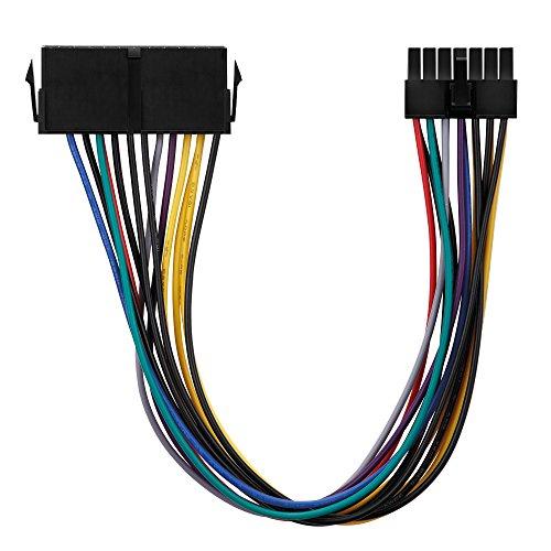conecto CC20015 ATX-Stromadapter Netzteil für Lenovo Medion 14-polig Mainboard Schwarz -
