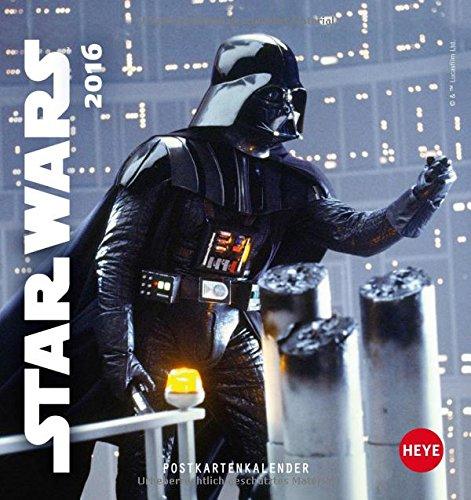 Star Wars Postkartenkalender 2016