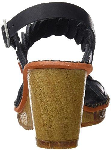 ART 1050 Mojave Amsterdam, Scarpe Col Tacco con Cinturino a T Donna Nero (Black)