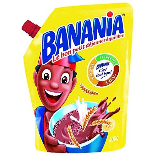 banania Petit déjeuner instantanéé Cacao + Céréales + Banane - ( Prix Unitaire ) - Envoi Rapide Et Soignée