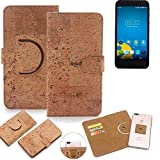 K-S-Trade 360° Cover cork Case for Vestel 5000 Dual-SIM |