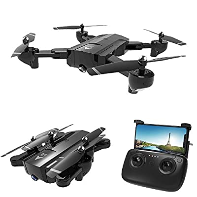 RC Drone,SG900 Foldable Quadcopter 2.4GHz Full HD Camera WIFI FPV GPS Fixed Point Drone (Sale)