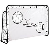 HUDORA 76918 - Porta da Calcio Hornet con Parete, Nero, 180 x 60 x 120 cm