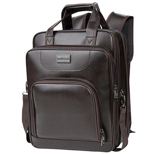 Vangoddy pittas Edition Top Griff Schulter Messenger Satch Tasche mit Hideaway Rucksack/Rucksack Träger für 30,5–33,8cm Zoll Tablets/Laptops/Notebooks (Case Rolling Premium Laptop)