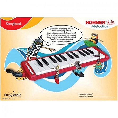 MELODICA - Hohner (K94266) Kit Music Melodica (Rojo) 26 Notas Con Libreto