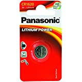Panasonic CR 1620 - Batería (Litio, 3V, 16 x 2 mm)