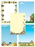 tierisch-witzig Briefpapier-Mix 50 Blatt 5x10 Blatt DIN A4 90 g/m² Mix2