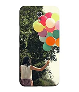 Fuson Designer Back Case Cover for Lenovo ZUK Z1 (Happy Celebrations Girl School Fun)
