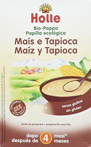 Holle Papilla Maíz Tapioca + 4 meses - 6 Paquetes