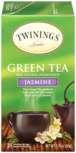 Green Tea with Jasmine , 25-count : Twinings Green Tea with Jasmine, 25 Count