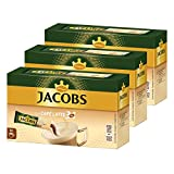 Jacobs 3in1 löslicher Kaffee, Typ Café Latte, Instantkaffee, 30 Becherportionen