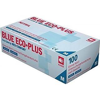 Einmalhandschuhe Ampri aus Nitril Blue Eco-Plus blau L