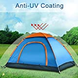YFXOHAR New Portable Picnic Camping Tent Portable Waterproof Tent Outdoor and Camping Tent (for 4-5 Person)