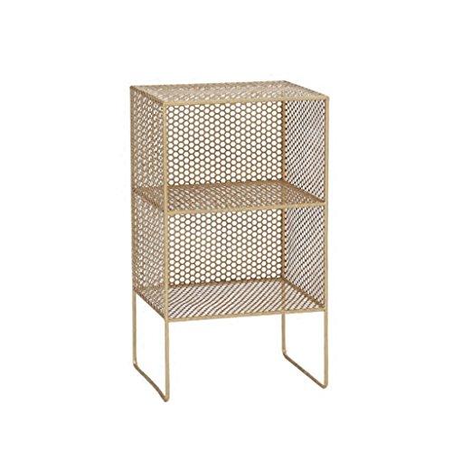DSC Wohnzimmer Lagerung Boden Bücherregal Moderne minimalistische Mini Eisen Nachttisch Lagerung...