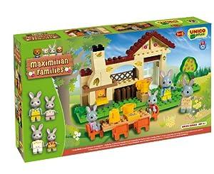 Androni Unico Plus 8934 Maximilian Families - Barbacoa para construir (70 piezas) , Modelos/colores Surtidos, 1 Unidad