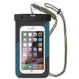 Jinxin Wasserdichte Phone Cases IPX8 Universale Dry Bag für Handy bis zu 6