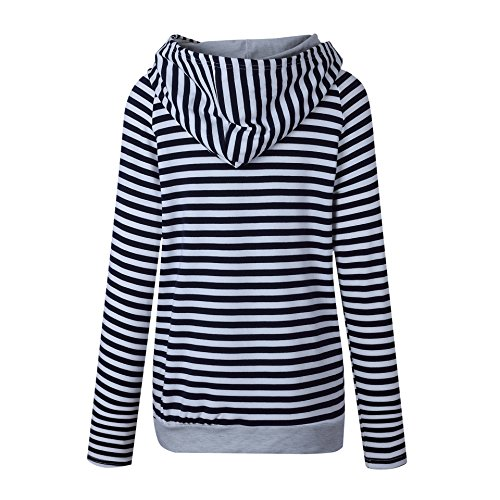 NACOLA - Sweat-shirt - Femme Bleu