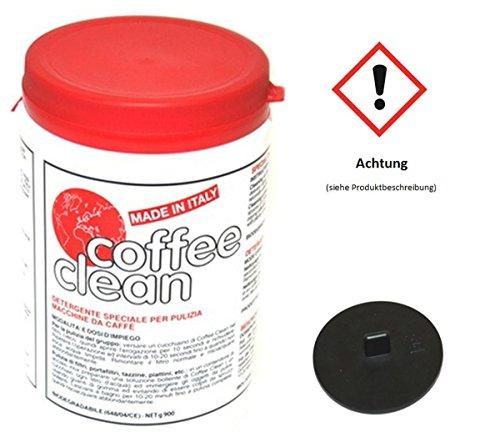 Coffee Clean Kaffeemaschinenreiniger Kaffeefettlöser + Blindfiltermembran …