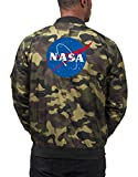 Nasa Bomberjacke Camouflage Certified Freak-L