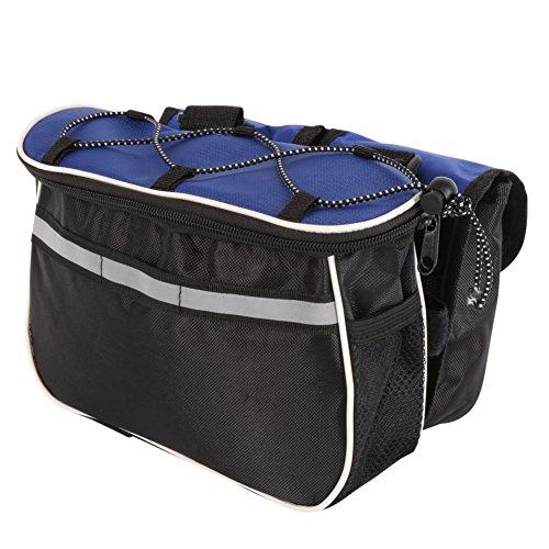hougood 4in 1Radfahren Bag Multifunktions-Satteltasche Bike Bag Regendicht Rahmen Tube Tasche Blau